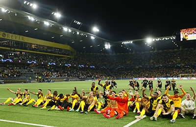 Манчестер Юнайтед, Янг Бойз, Лига чемпионов УЕФА