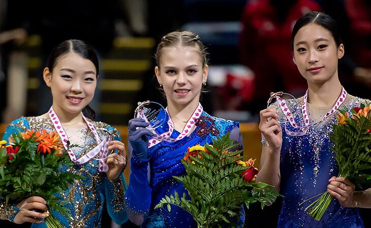 Уже сейчас у Трусовой нет соперниц: два рекорда, 100 баллов за технику (больше только у Чена и Ханю)