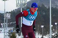 У Большунова серебро в лыжном марафоне. Онлайн Олимпиады