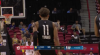 Trae Young with one of the day's best assists