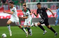 Миранчук классно попал в девятку со штрафного, а Кварацхелия забил в первом же матче против «Локо»