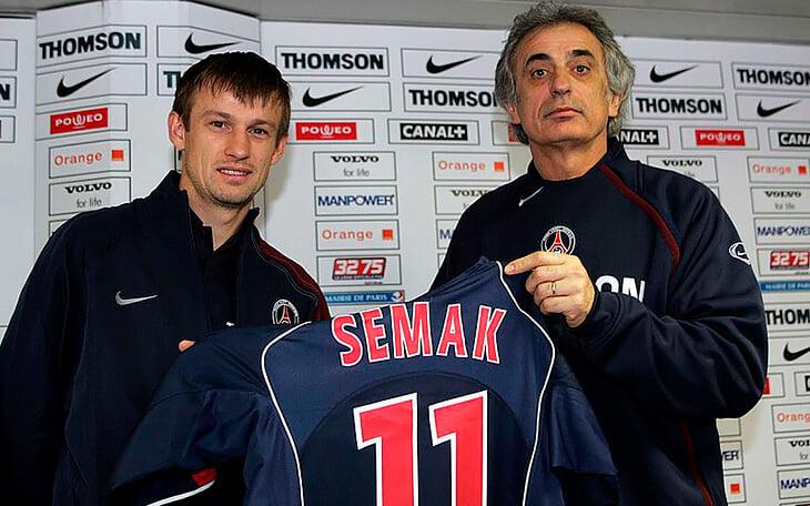 15 лет назад Семак думал закончить с футболом из-за жестких сборов, но потом появился «ПСЖ» – а там устрицы, кабаре и вино