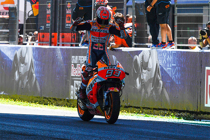 Марк Маркес, чемпионат мира MotoGP, Хонда MotoGP