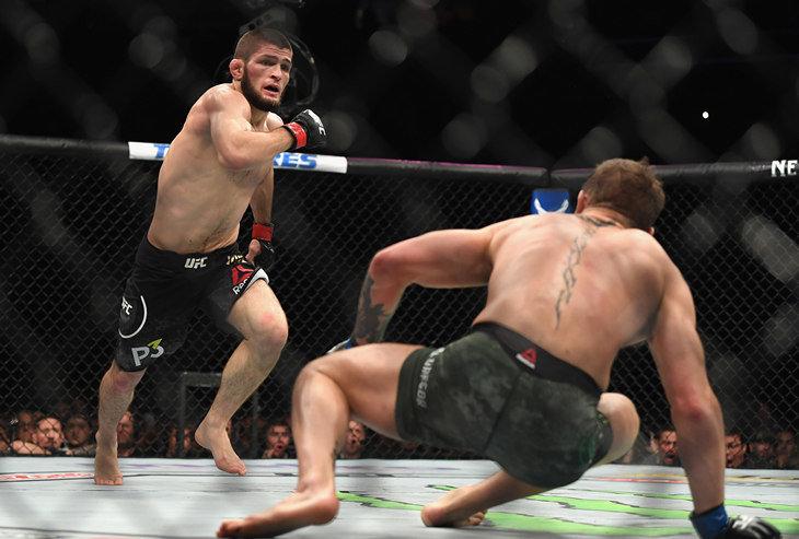 Фергюсон попросил UFC организовать бой сНурмагомедовым