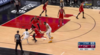 Rudy Gobert with one of the day's best dunks