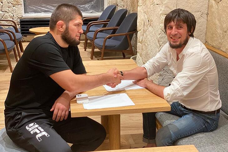 Хабиб все ближе к футболу – «Легион-Динамо» (сыграет в Кубке с «Уфой) намекает на контракт