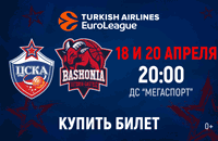 ЦСКА, Turkish Airlines Euroleague