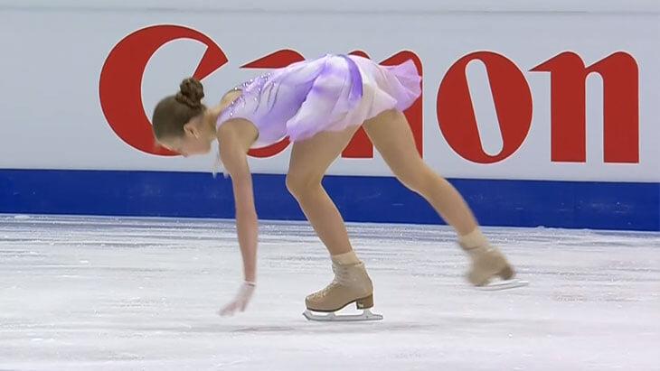 Срыв Трусовой на чемпионате мира: ошиблась на простом прыжке – Плющенко выпучил глаза и чесал голову