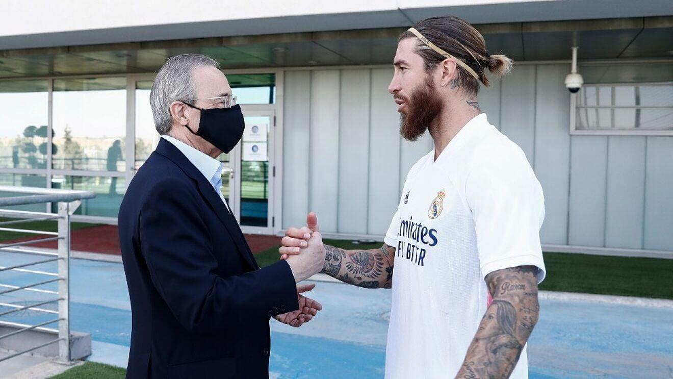 Серхио Рамос: Я хотел контракт на 2 года, Реал предлагал на год. Когда я согласился, мне сказали, что время истекло
