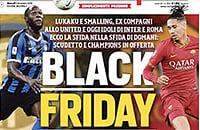 Обложка «Черная пятница» с Лукаку и Смоллингом: все говорят о расизме, а газета отвечает, что просто гордится игроками