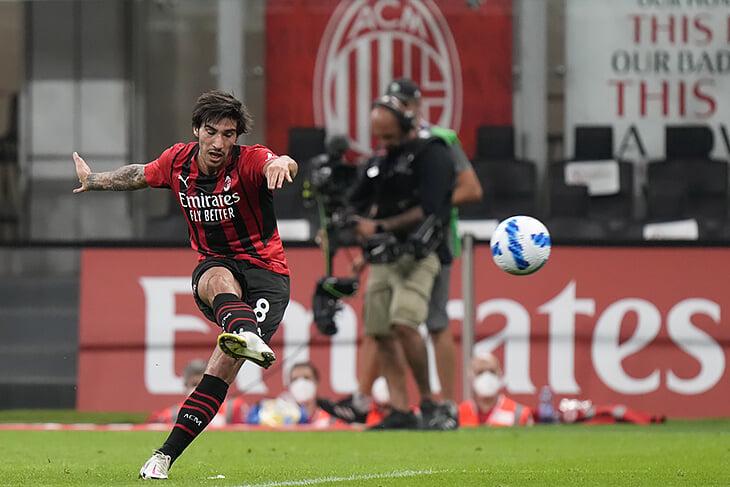 Копия первого гола Пирло за «Милан»: забил Тонали, которого Андреа считает талантливее себя