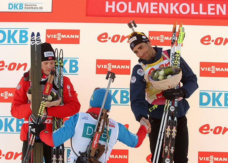 Первый подиум Логинова – чудо: Фуркад и Тарьей Бо тепло поздравляют, шутят с ним, Саша улыбается – не верится, но это было