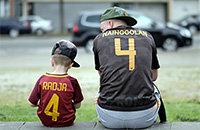 Рома, ЧМ-2018, болельщики, Сборная Бельгии по футболу, Раджа Наингголан