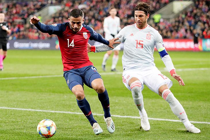 Рамос – новый король Испании. Обогнал Касильяса по матчам, но сборная упустила победу на 94-й минуте