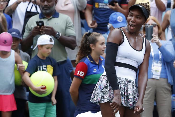 Винус Уильямс на US Open заказала на корт кофе. Вавринка так однажды обыграл Надаля, Серена – ушла с 0:5