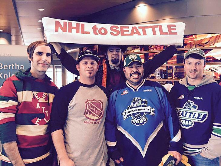 НХЛ, Сиэтл, бизнес