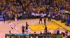 Stephen Curry with the nice dish vs. the Cavaliers