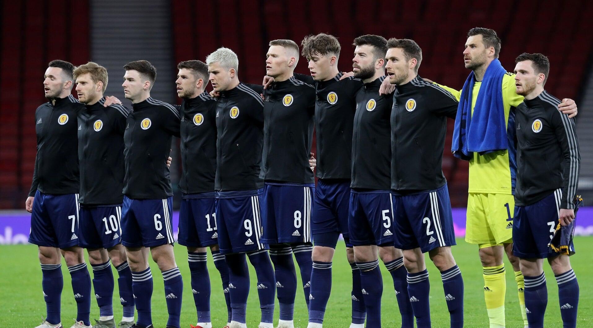 Игроки сборной Шотландии не будут вставать на колено перед матчами Евро-2020