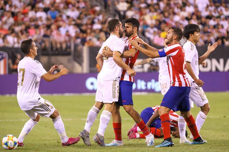 «Реал» и«Атлетико» забили 10 голов втоварищеском матче