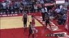 James Harden sinks the shot at the buzzer