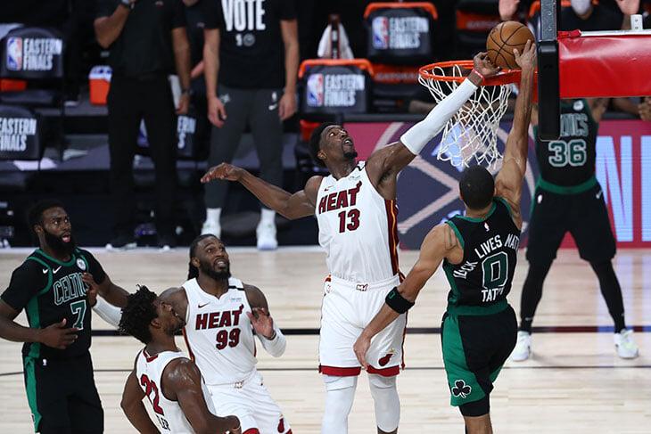 Мы получили от 1-го матча «Бостона» и «Майами» все, что нам обещали. И даже больше: победный блок можно пересматривать тысячи раз