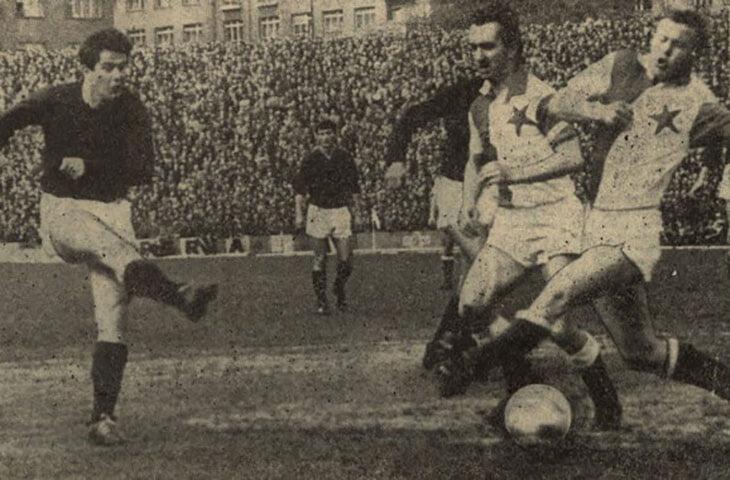 Футбол 1967 чехословакия- испания
