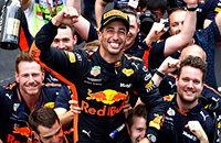 Себастьян Феттель, Феррари, Ред Булл, Гран-при Монако, Гран-при Испании, Гран-при Китая, Кристиан Хорнер, Даниэль Риккардо, Формула-1