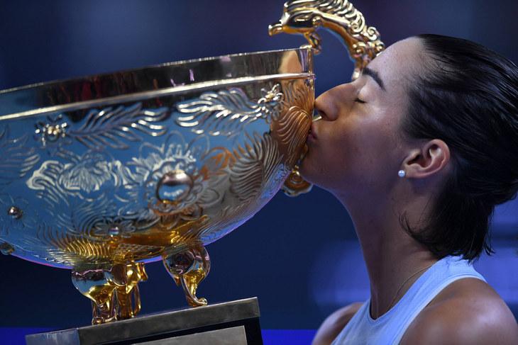 WTA, Кристина Младенович, Каролин Гарсия, Ализе Корне, Энди Маррей, China Open