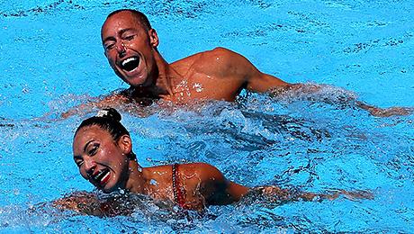 Мужики в синхронном плавании: к этому нельзя привыкнуть