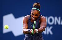 Серена и Осака сыграли впервые после того US Open. Уильямс все делала лучше, японка не справилась с ветром