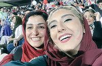 болельщики, Сборная Ирана по футболу, ЧМ-2018, девушки и спорт, Азади