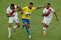 В финале Кубка Америки весело: три гола в первом тайме