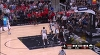 Clint Capela with the rejection vs. the Spurs