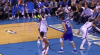 Milos Teodosic (3 points) Highlights vs. Oklahoma City Thunder