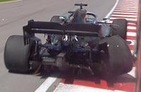 Первая ошибка Хэмилтона за 29 Гран-при: влетел в стену на ровном месте