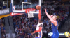 Mason Plumlee with a huge block!