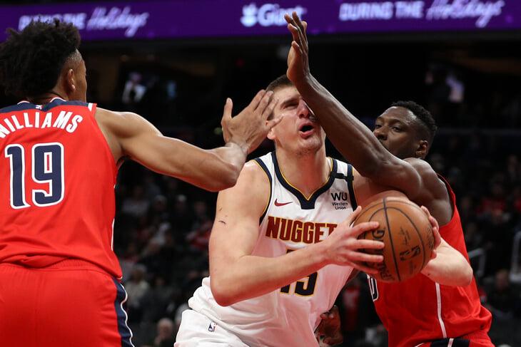 «Наггетс» Йокича вновь среди лучших команд НБА. Но все так же далеки от финала