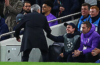 Жозе Моуринью, премьер-лига Англия, Лига чемпионов УЕФА, Тоттенхэм