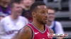 Norman Powell with the flush
