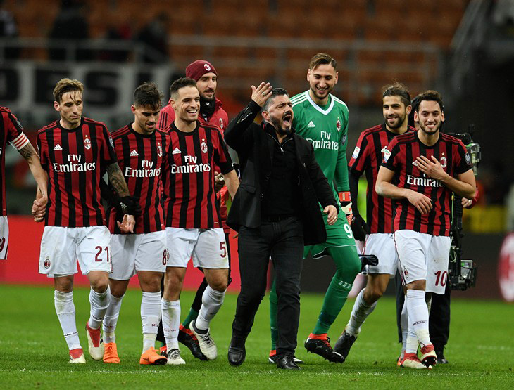 «Милан» не проигрывает 12 матчей. Гаттузо что, норм?