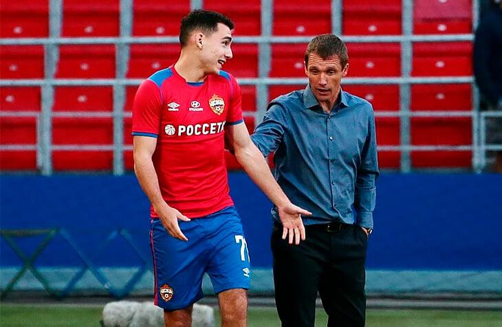 Вторые таймы ЦСКА – катастрофа. Гончаренко меняет схему и ставит новичков, но ничего не меняется