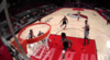 Norman Powell with the big dunk