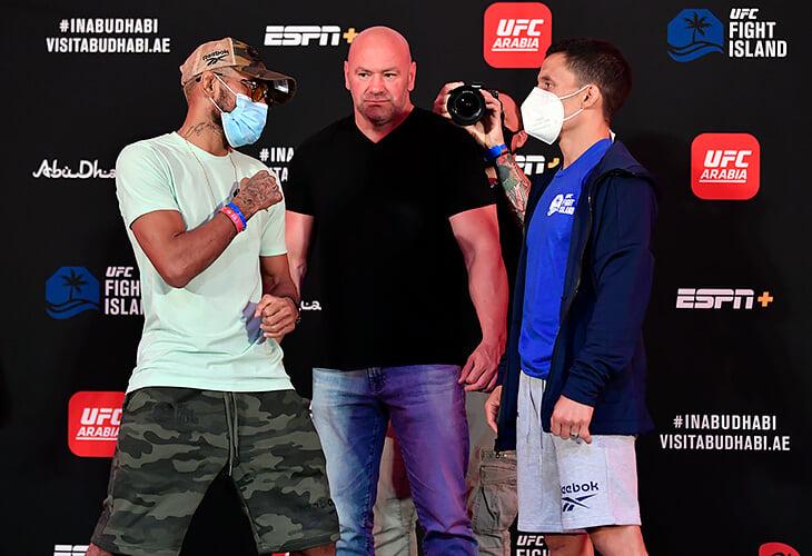 Третий турнир «Бойцовского острова» UFC: чемпионский бой Фигередо и Бенавидеса. Онлайн