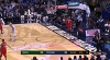 Giannis Antetokounmpo skies for the big oop