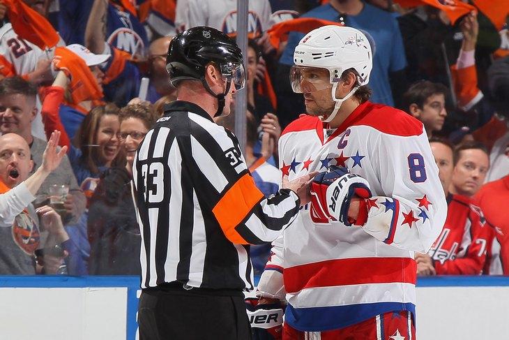 судьи, НХЛ, правила