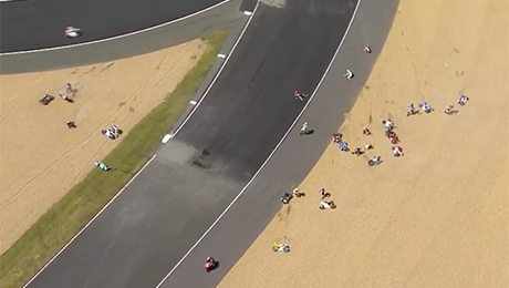 происшествия, чемпионат мира MotoGP