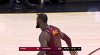 LeBron James with the great assist!