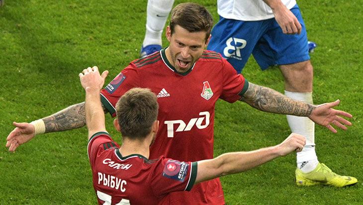 Смолов расцветает в 2021-м. Выбил «Сочи» из Кубка дублем, в четырех матчах – четыре гола