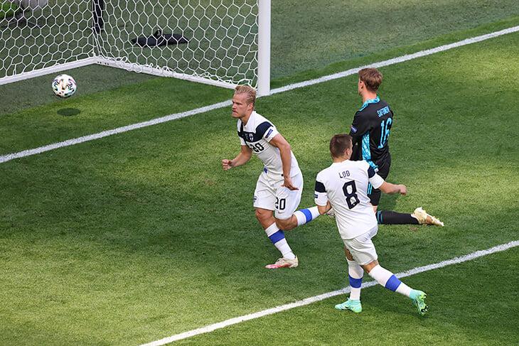 Цифры победы над финнами: не пропустили на Евро впервые за 10 матчей, Дзюба не забивает уже 5 игр –антирекорд