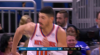 Enes Kanter with the huge dunk!